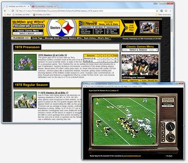 Steelers original schedule